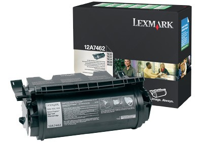 Toner Original pentru Lexmark Negru, compatibil Optra T630/632/634/X630/632/634, 21000pag  [0]