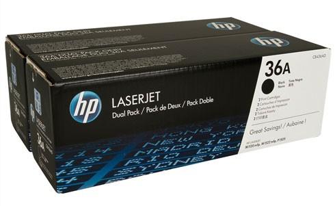 Toner Original pentru HP Negru Dual Pack, compatibil LJ P1505, 2 x 2000pag  0