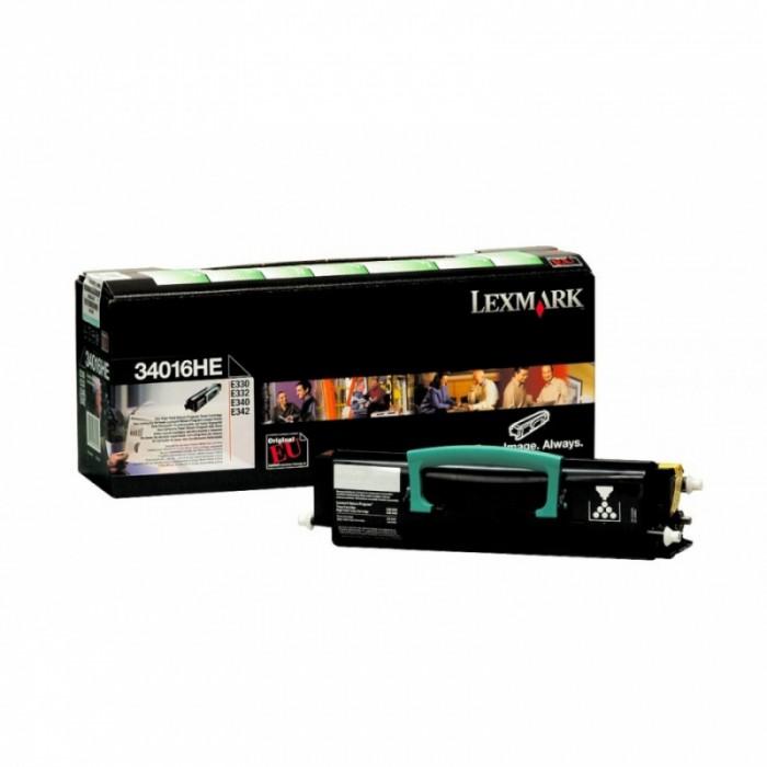 Toner Original pentru Lexmark Negru, compatibil E330/332/340/342, 6000pag  [0]