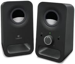BOXE Logitech 2.0 Z150  RMS power: 3 W , Black  0