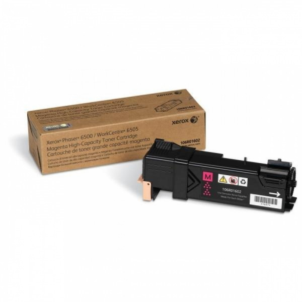 Toner Original pentru Xerox Magenta, compatibil Phaser 6500/6505, 2500pag  0