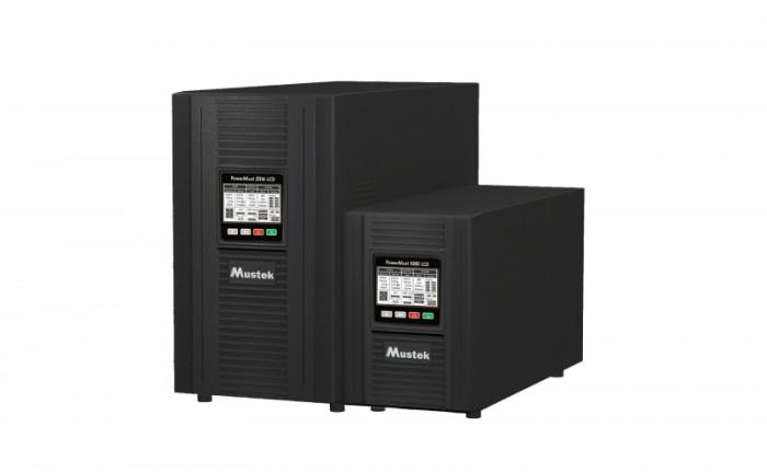 UPS MUSTEK PowerMust  1080 online LCD (1KVA), IEC  0