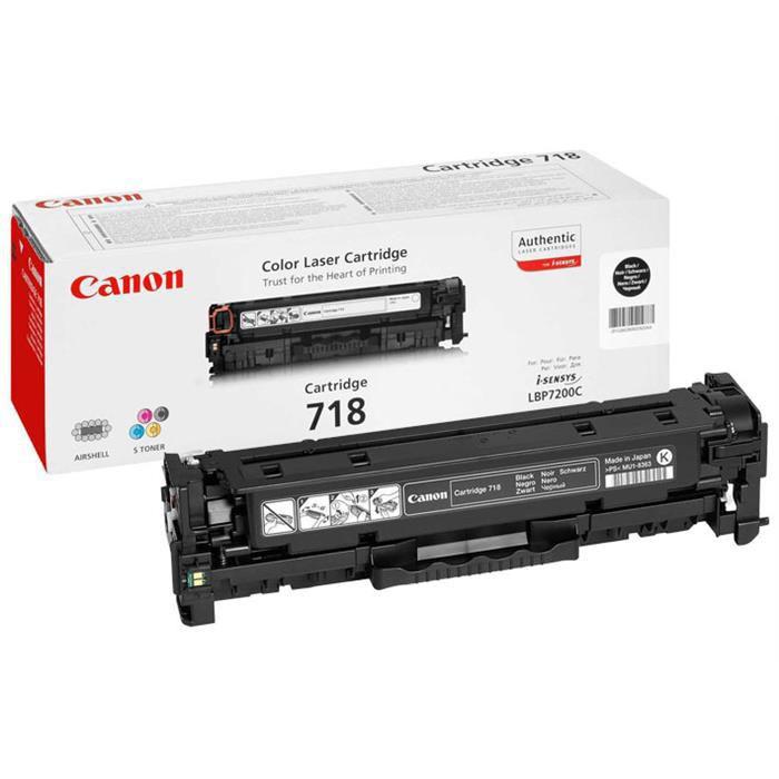 Toner Original pentru Canon Negru CRG-718B Twin Pack, compatibil LBP7200CDN, 2x3400pag  [0]