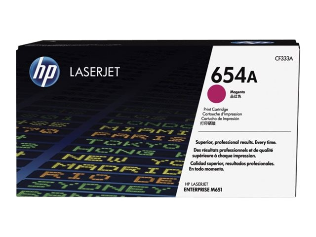 Toner Original pentru HP Magenta 654A, compatibil M651, 15000pag  0