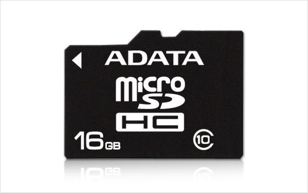 Secure Digital Card micro SDHC 16GB class10 ADATA  0