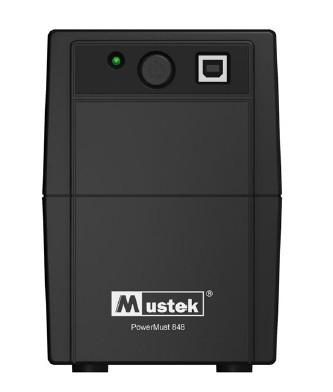 UPS  MUSTEK PowerMust  848 (850VA) Line Interactive, IEC  0