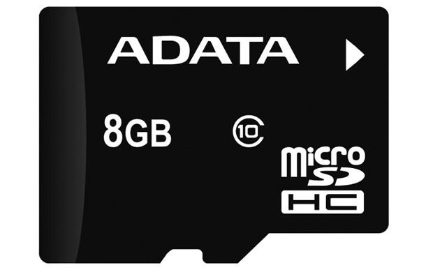 Secure Digital Card micro SDHC 8GB class10 ADATA  0