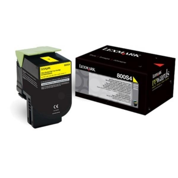 Toner Original pentru Lexmark Yellow, compatibil C310/410/510, 2000pag  [0]