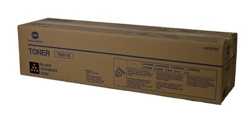Toner Original pentru Konica-Minolta Negru TN-611K, compatibil BizHub C550/650, 45000pag  0