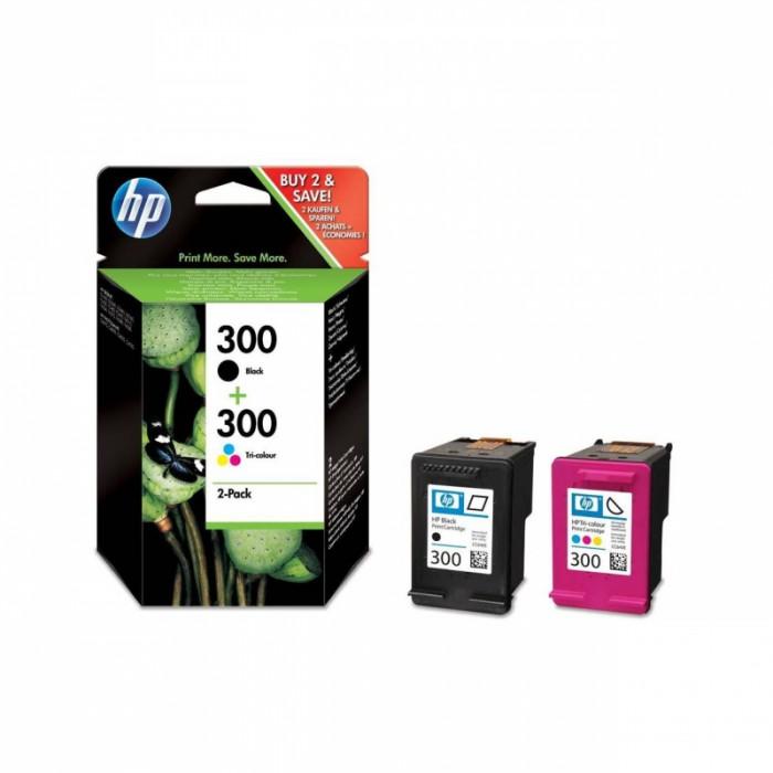 Cartus cerneala Original HP Black+CMY 300, compatibil DJ D2530/2560/5560/F2420/2480/4580/PS C4680/4780  [0]