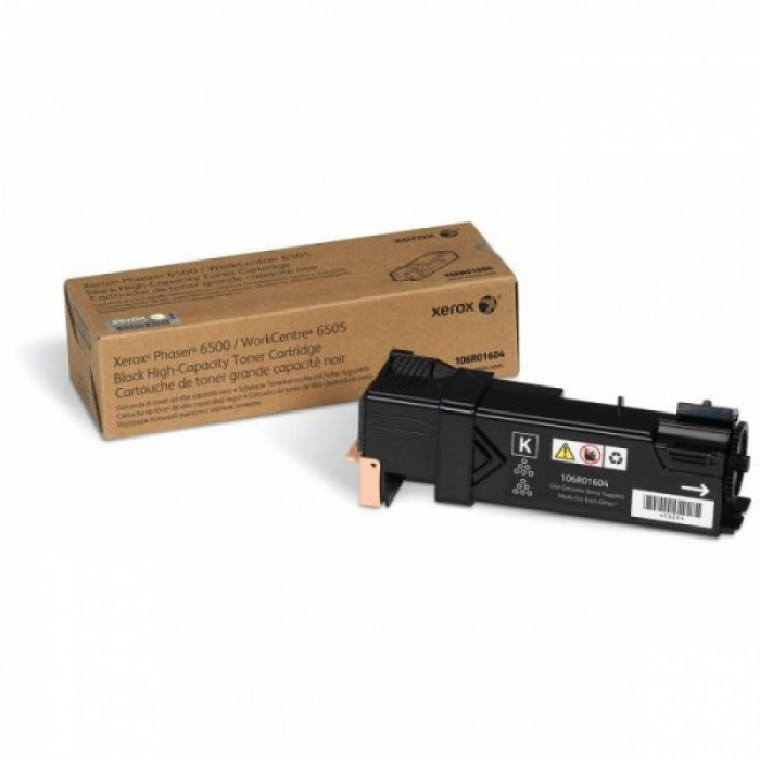 Toner Original pentru Xerox Negru, compatibil Phaser 6500/6505, 3000pag  0