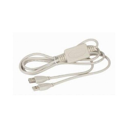Cablu de date USB2.0 Network Link, lungime cablu: 1.8m, bulk, Alb, GEMBIRD  0