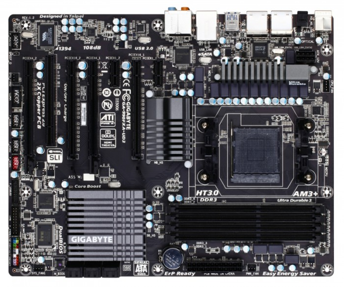 Placa de baza Gigabyte 990FXA-UD3 0