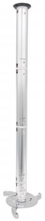 Suport tavan Manhattan pentru proiector pina la 10 kg, Silver  0