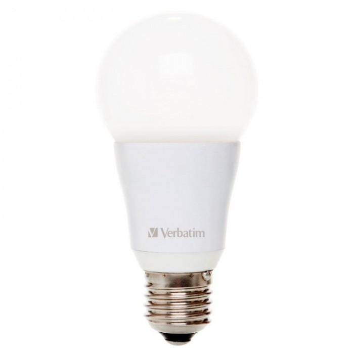 BEC LED Verbatim E27. 7.5W 2700K Warm White 480LM IP65-uz exterior mat  0