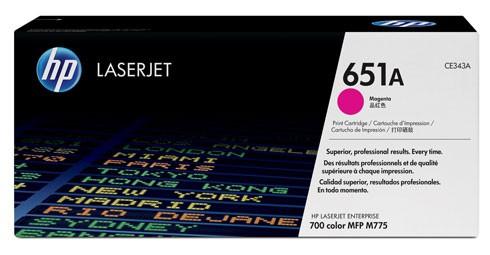 Toner Original pentru HP Magenta, compatibil LJ 651A, 16000pag  [0]