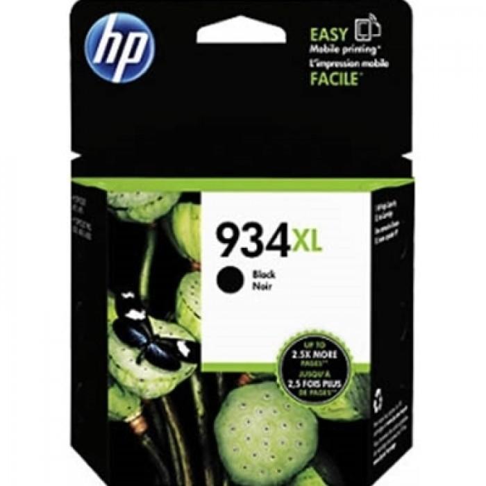 Cartus cerneala Original HP Black 934XL, compatibil OfficeJet Pro 6830, 1000pag  0