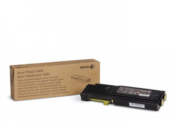 Toner Original pentru Xerox Yellow, compatibil Phaser 6600/WC6605, 2000pag  0