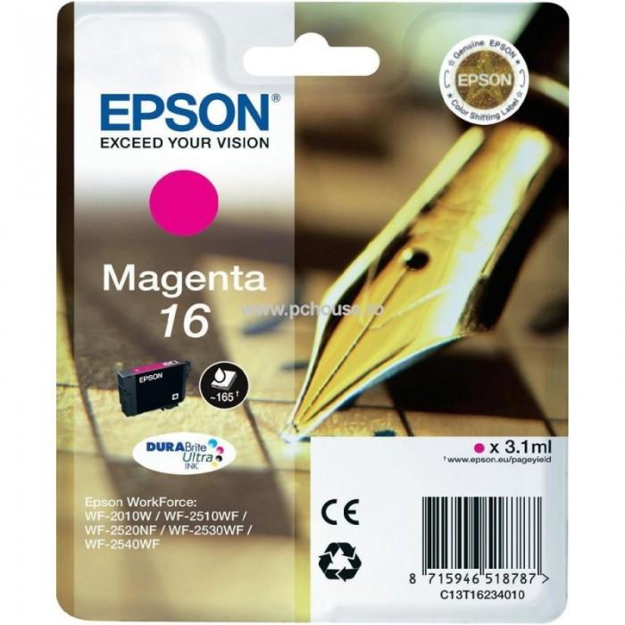 Cartus cerneala  Original Epson Magenta C13T16234010 compatibil  WF2540  [0]