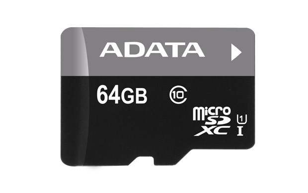 Secure Digital Card micro SDHC 64GB class 10 ADATA  0