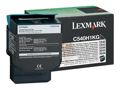 Toner Original pentru Lexmark Negru, compatibil C540/543/544/X543/544, 2500pag  [0]