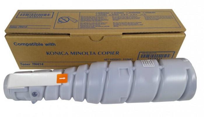 Toner Original pentru Konica-Minolta Negru TN-414, compatibil BizHub 363/423,  25000pag  0