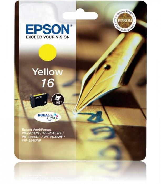 Cartus cerneala  Original Epson Yellow C13T16244010 compatibil  WF2540  [0]