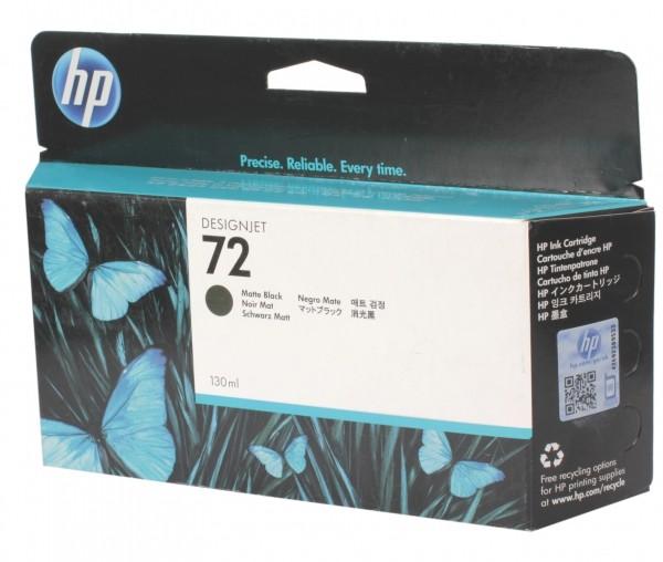 Cartus cerneala Original HP Black Matte 72 w.Vivera ink, compatibil DesignJet T1100/1120/1200/1300/2300/T610/620/770/790, 130ml  0
