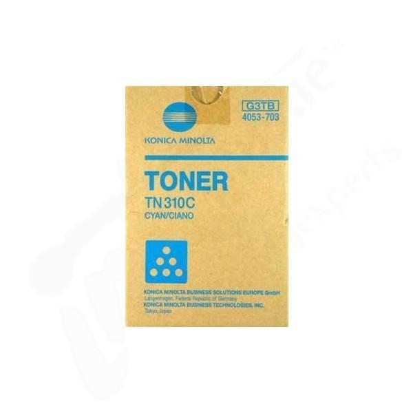 Toner Original pentru Konica-Minolta Cyan TN-310C, compatibil BizHub C350/351/450, 11500pag  0