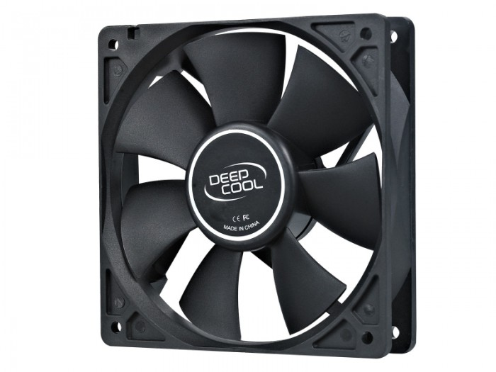 Ventilator carcasa DeepCool Xfan 120 black 120mm 0