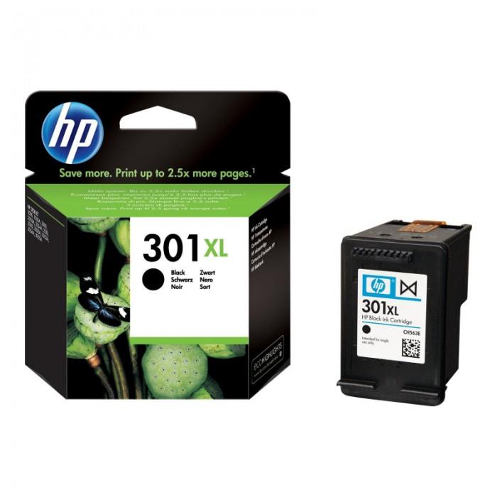 Cartus cerneala Original HP Black 301XL w.Vivera ink, compatibil DJ1000/1050/1055/2050/3050, 480pag  0