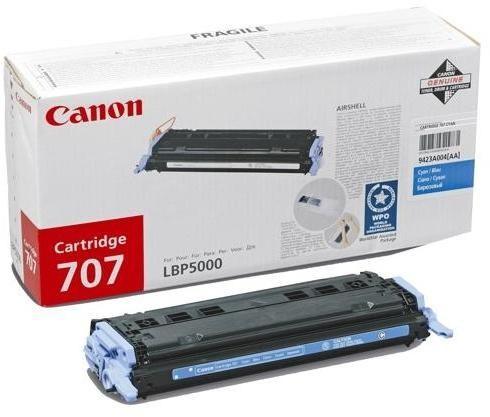 Toner Original pentru Canon Cyan CRG-707C, compatibil LBP5000, 2000pag  [0]