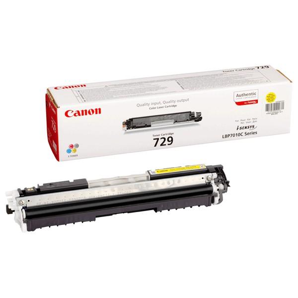 Toner Original pentru Canon Yellow CRG-729Y, compatibil LBP7018C, 1000pag  [0]