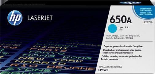 Toner Original pentru HP Cyan, compatibil LJ 650A, 15000pag  0