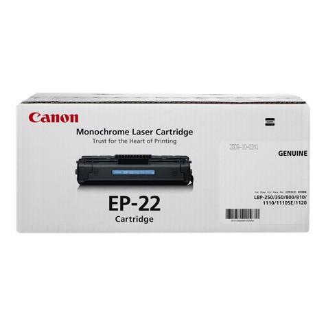 Toner Original pentru Canon Negru E-22, compatibil LBP800, 2500pag  [0]