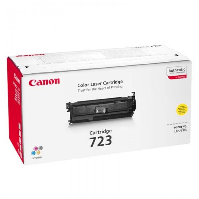Toner Original pentru Canon Yellow CRG-723Y, compatibil LBP7750CDN, 8500pag  [0]