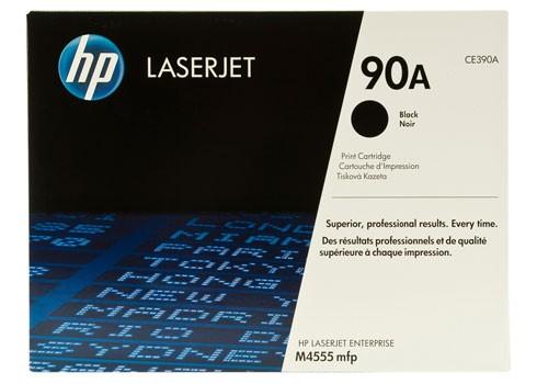 Toner Original pentru HP Negru, compatibil LJ M4555 mfp 90A w.SmartPrinting, 10000pag  [0]