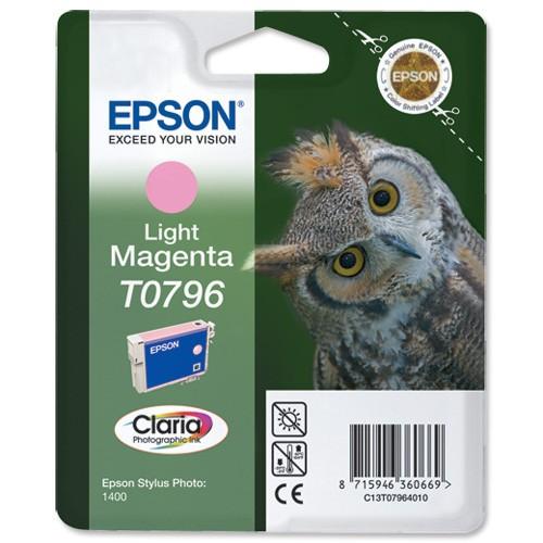 Cartus cerneala  Original Epson Magenta C13T07964010 compatibil  Stylus Photo 1400  [0]