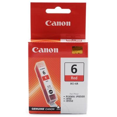 Cartus cerneala Original Canon BCI-6R Photo Red, compatibil IP8500/i9900  0
