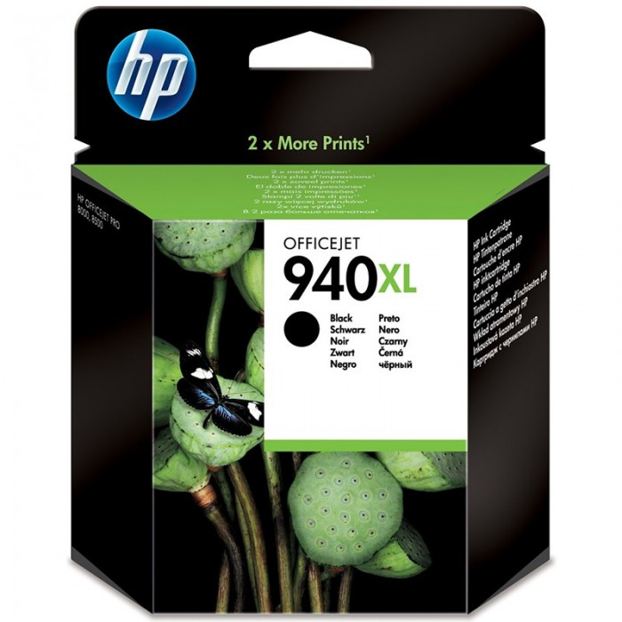 Cartus cerneala Original HP Black 940XL, compatibil OfficeJet Pro 8000/8500, 2200pag  [0]