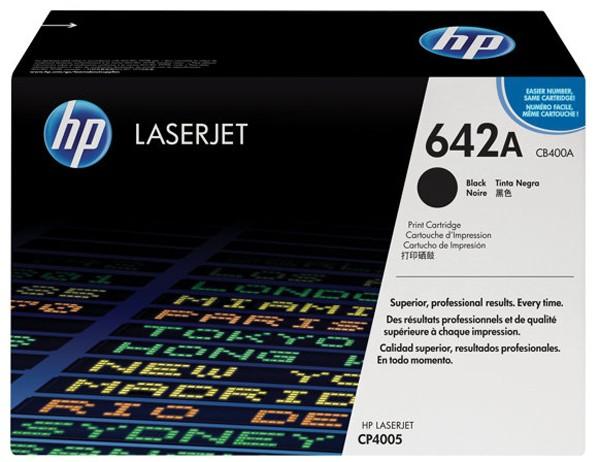 Toner Original pentru HP Negru, compatibil CP4005, 7500pag  [0]