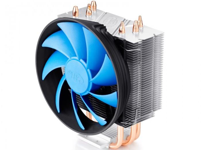 Cooler CPU DeepCool GAMMAXX300, Universal, ventilator 120mm cu functie PWM, aluminiu, 3x heatpipe 0