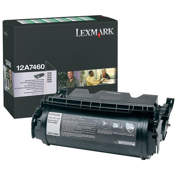 Toner Original pentru Lexmark Negru, compatibil Optra T630/632/634/X630/632/634, 5000pag  0