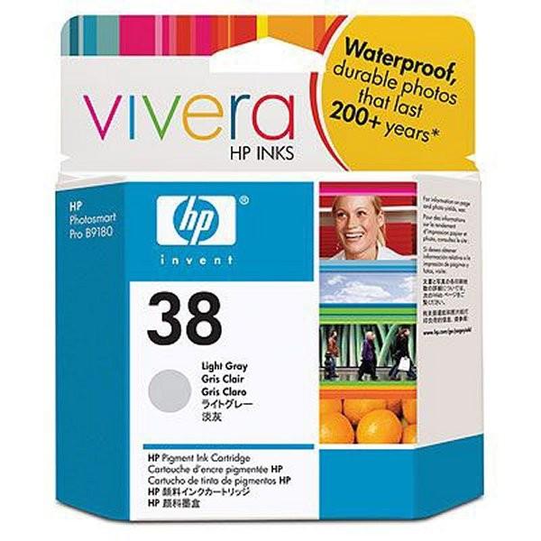 Cartus cerneala Original HP Grey Light 38 w.Vivera ink, compatibil PhotoSmart B9180/Pro B8850/9180, 27ml  [0]