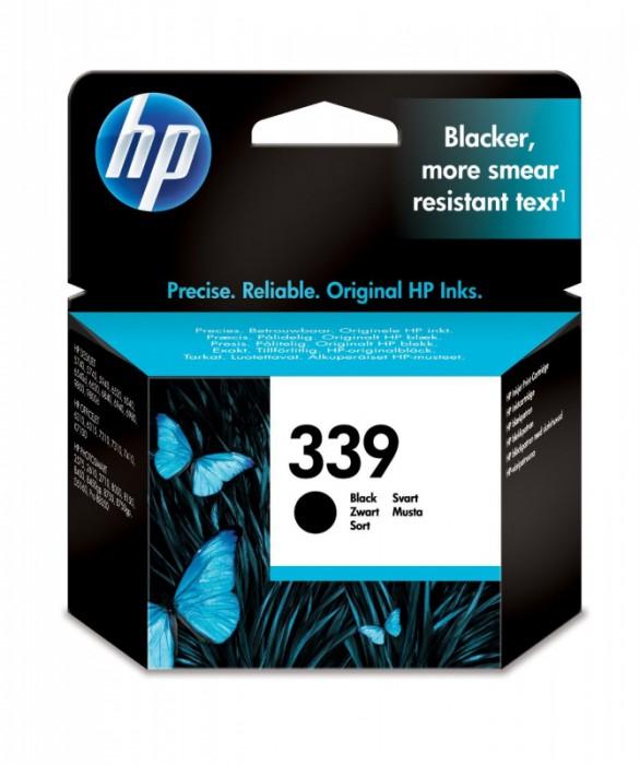 Cartus cerneala Original HP Black 339 w.Vivera ink, compatibil DJ5740/574x/65xx/OJ2570/8050/84xx/87xx/PSC1610/23xx, 21ml, 800pag  [0]