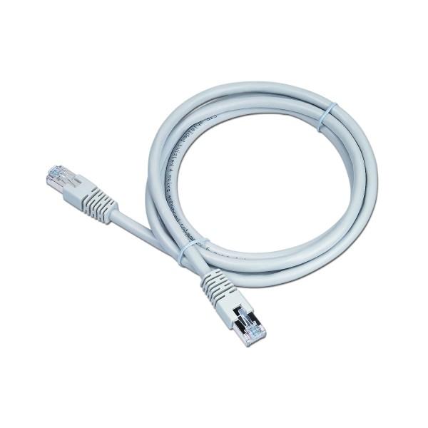 Cablu UTP Patch cord cat. 6, conectori 2x 8P8C, lungime cablu: 1.5m, bulk, Alb, GEMBIRD  0