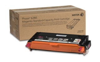 Toner Original pentru Xerox Magenta, compatibil Phaser 6280, 2200pag  0