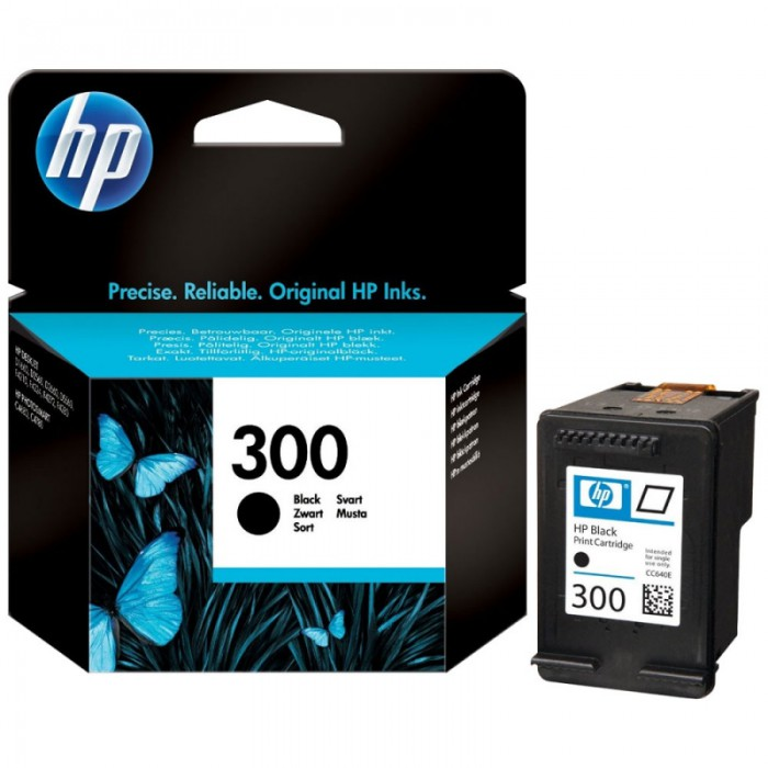Cartus cerneala Original HP Black 300 w.Vivera ink, compatibil DJ D2530/2560/2660/5560/F2420/2480/4280/PS C4680/4780, 200pag  0