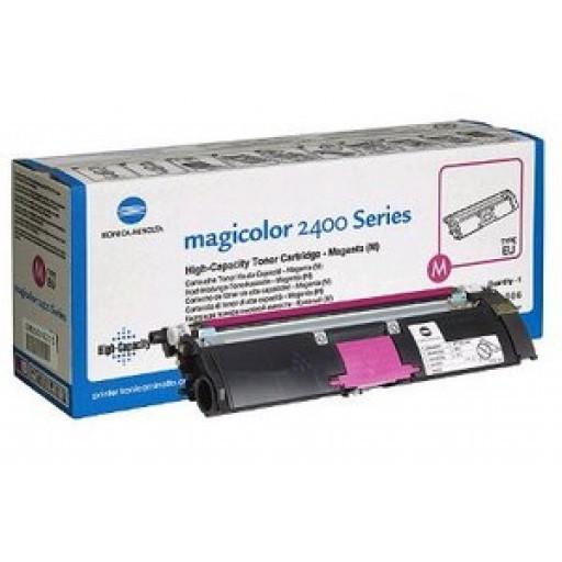 Toner Original pentru Konica-Minolta Magenta, compatibil MagiColor 2400/2430/2450/2500/2530/2550/2480/2490, 1500pag  0