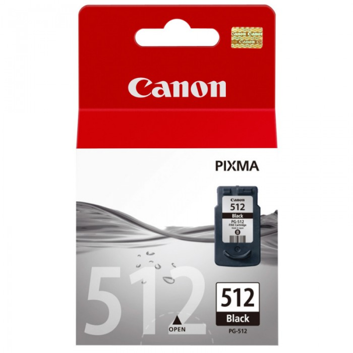 Cartus cerneala Original Canon PG-512 Negru, compatibil MP240/MP260  0